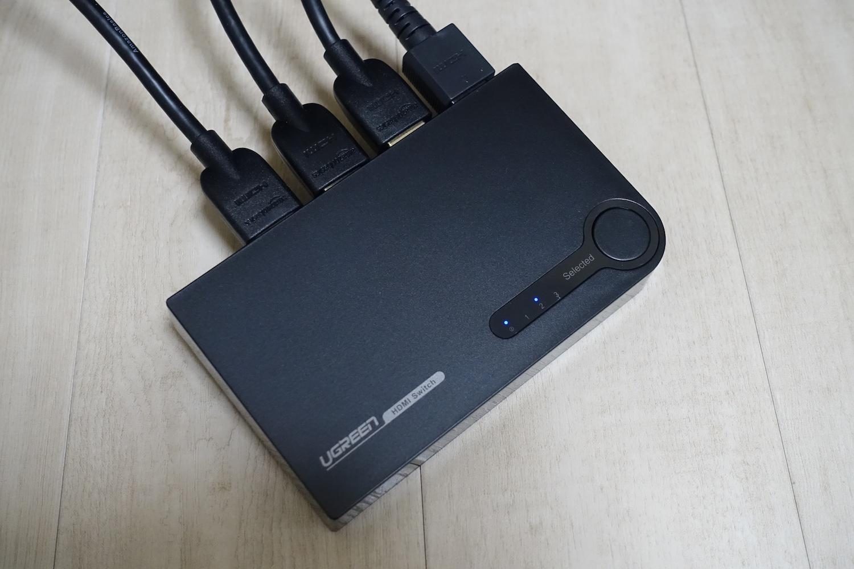 4K対応なHDMIセレクタ(3入力1出力)を買ってみた