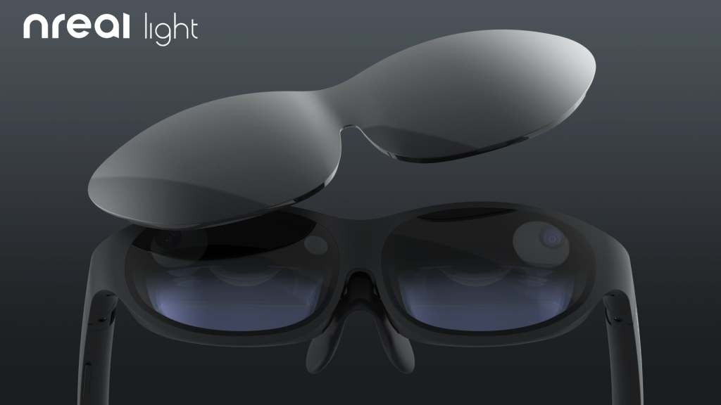 NrealLightの視力矯正用レンズを作ってもらった